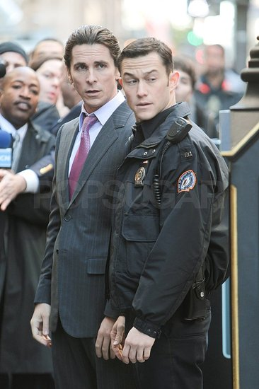 Christian Bale and Joseph Gordon-Levitt Take Over NYC With Dark Knight Rises