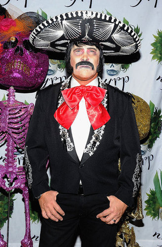 Designer Michael Kors went with a mariachi look at Bette Midler's 2011 NYC party.