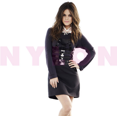 Rachel Bilson in Nylon magazine.