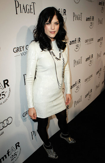 Selma Blair at the 2011 amfAR Inspiration Gala.