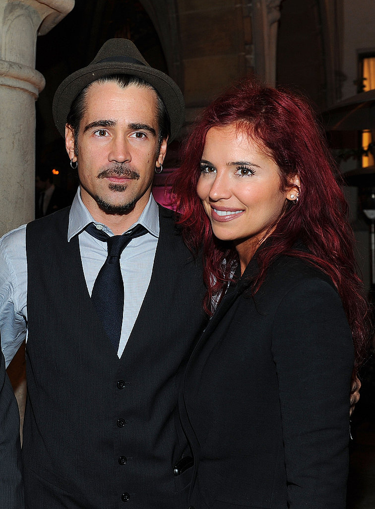 Colin Farrell brought his sister Claudine Farrell to the 2011 amfAR Inspiration Gala.