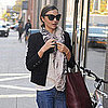 Miranda Kerr, Flynn Bloom, & Frankie in NYC Pictures