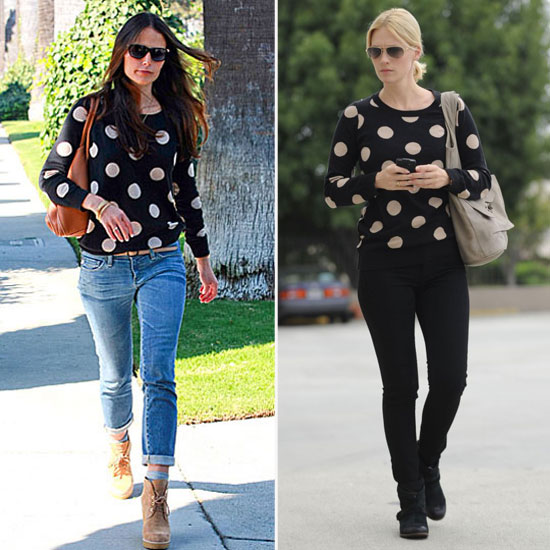 Who Wore It Better: Jordana and January Face Off in Madewell's Dots
