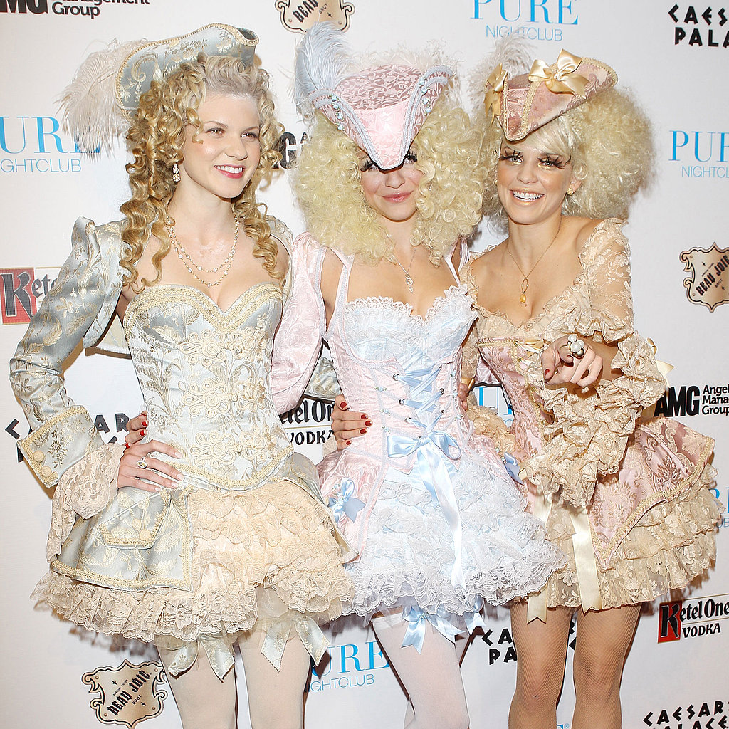 Celebrity Halloween Costume Pictures 2011 Including Kim Kardashian and Heidi Klum