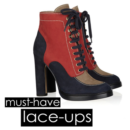 20 Must-Have Lace-Up Booties