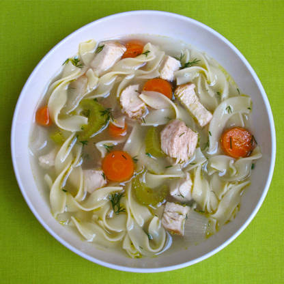 Healthy Recipe For Chicken Noodle Soup