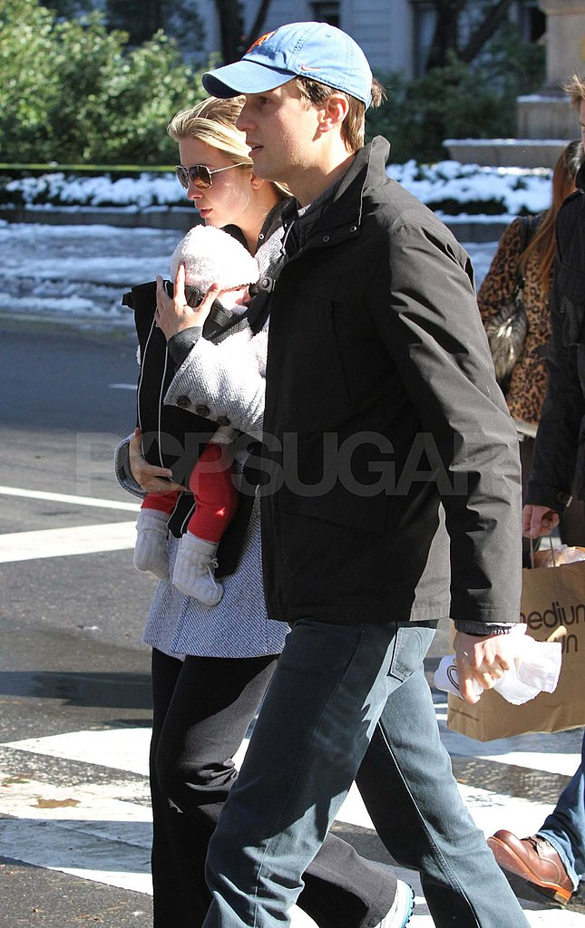 Ivanka Trump and Jared Kushner on the streets of NYC with Arabella.