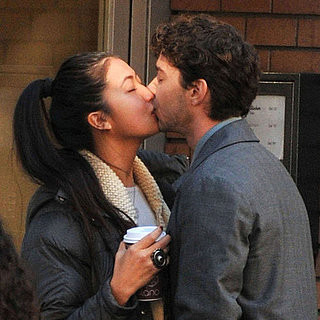 Shia LaBeouf and Karolyn Pho Kissing Pictures