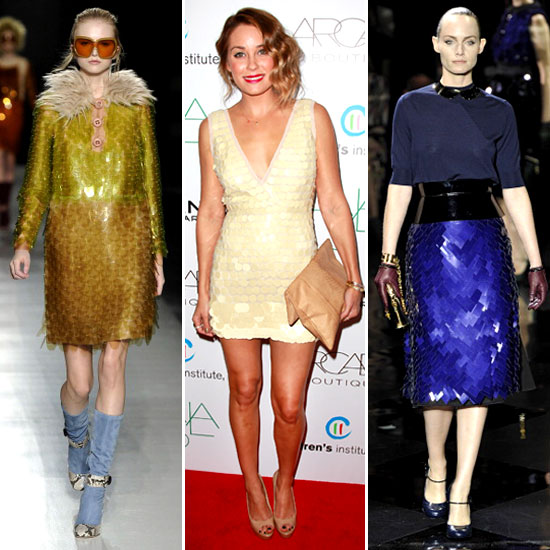 Paillettes Trend For Fall 2011