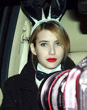 Emma Roberts stepped out in character as a Playboy Bunny in 2011.