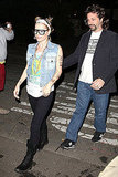 Judd Apatow and wife Leslie Mann headed out in costume in 2011.