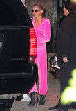 Nicole Richie tried on Jennifer Lopez's signature look for Halloween in 2011.