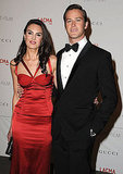 Armie Hammer and wife Elizabeth Chambers at a LACMA bash.