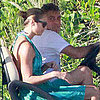 George Clooney and Stacy Keibler Pictures in Cabo