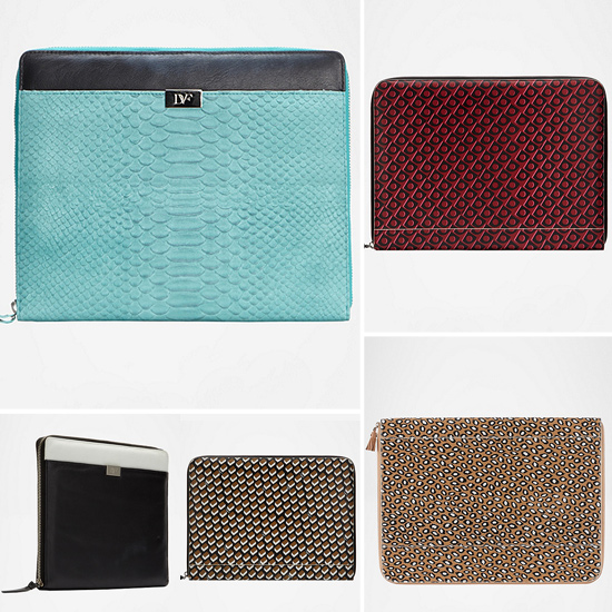 Splurge: DvF iPad and Laptop Cases
