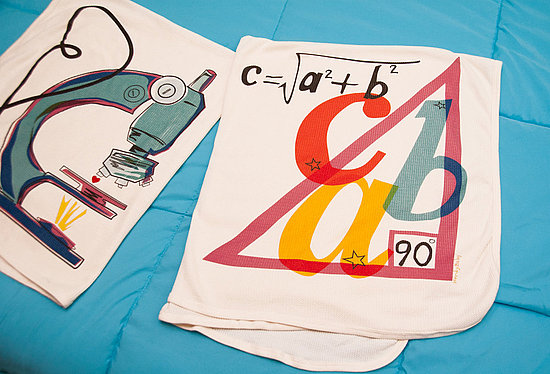 Pythagoras Loves You: Nerdy Baby Blanket