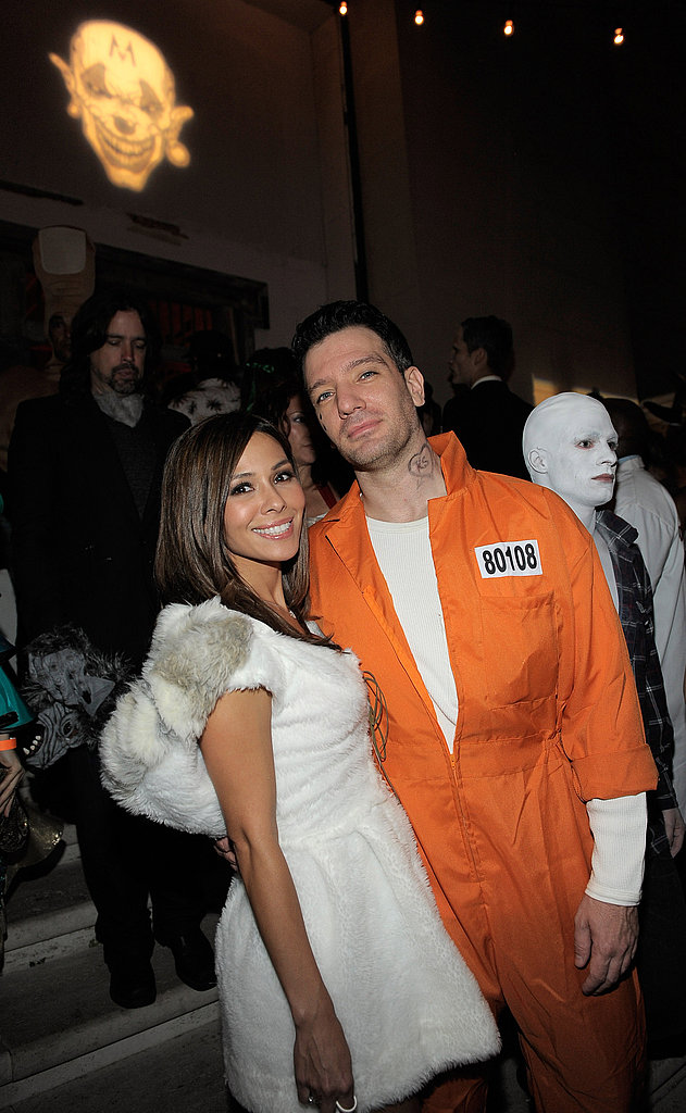 JC Chasez dressed up for Halloween.