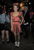Lauren Conrad was Minnie Mouse for Halloween.