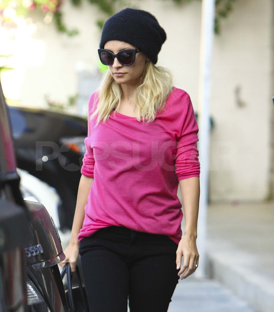 Nicole Richie out in LA.