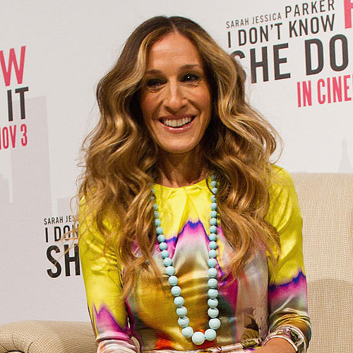 Sarah Jessica Parker Twin Pictures in Halloween Costumes