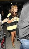 A pregnant Beyoncé stepped out in her bee costume in 2011.