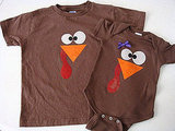 Little Turkey Thanksgiving Onesie or Shirt ($10)