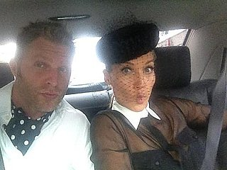 Behind-the-Scenes Celebrity Twitter Pictures From the 2011 Melbourne Cup