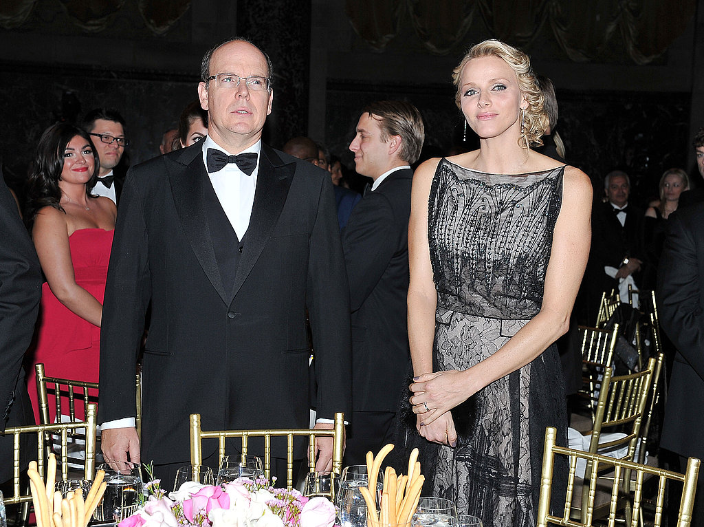 Prince Albert and Princess Charlene