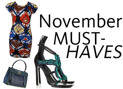 Shop Our Top Ten Must-Have Buys for November Now: Isabel Marant Navajo Pants, One Teaspoon Cut Offs, Bassike Tee, and YSL Bags!