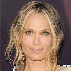 ... the sexy, tousled look he often gives his celebrity client Molly Sims.