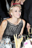 Princess Grace laughed at her table at the 2011 Princess Grace Awards Gala.