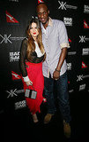 Khloe Kardashian and Lamar Odom came out for the Kardashian Kollection in Sydney.