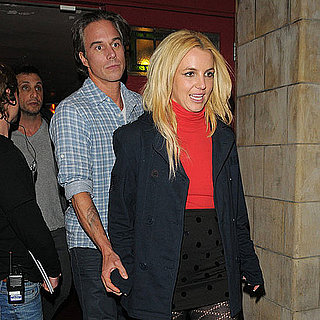 Britney Spears Pictures at Rock of Ages With Jason Trawick