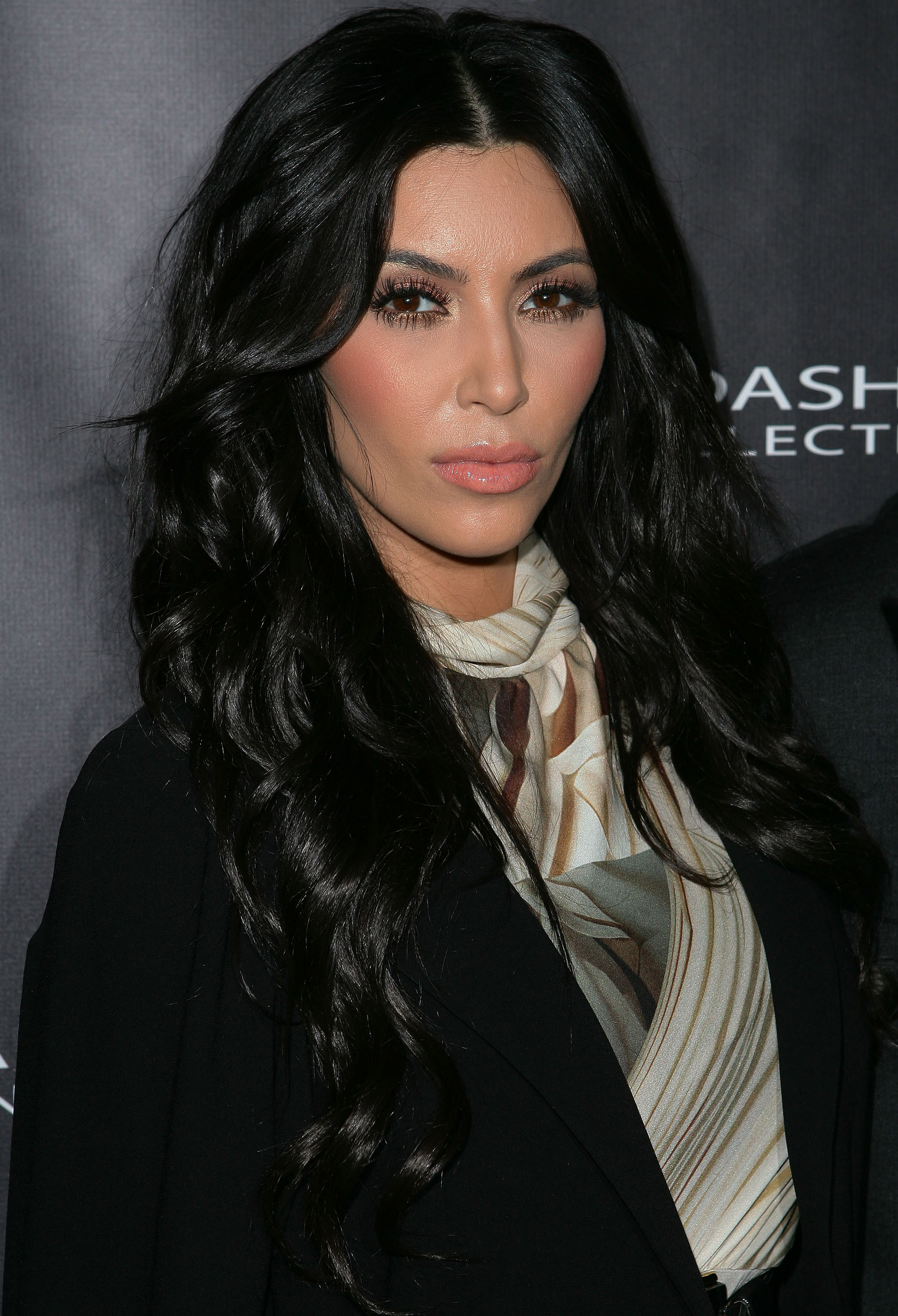 Kim Kardashian launched the Kardashian Kollection in Sydney.