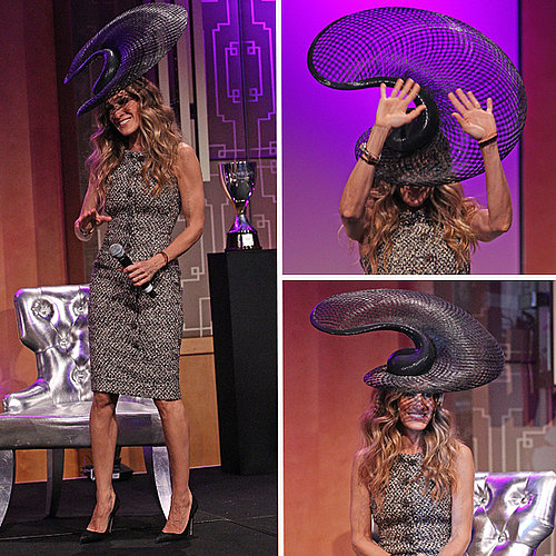 Sarah Jessica Parker Wears Philip Treacy Hat