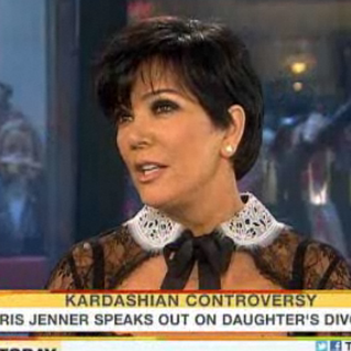Kris Jenner Defends Kim on Today Show