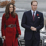 Prince William and Kate arrive at a UNICEF center.