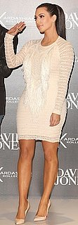 Kim Kardashian in Isabel Marant Dress and Louboutin Pumps