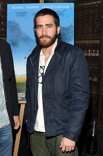 Jake Gyllenhaal sported a full beard in NYC.
