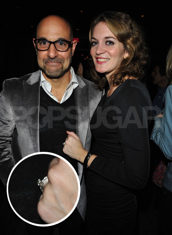 Stanley Tucci Is Engaged to Emily Blunt's Sister — See the Ring!