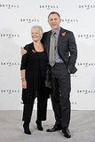 Daniel Craig and Judi Dench reunited on the red carpet for their latest film, Skyfall.