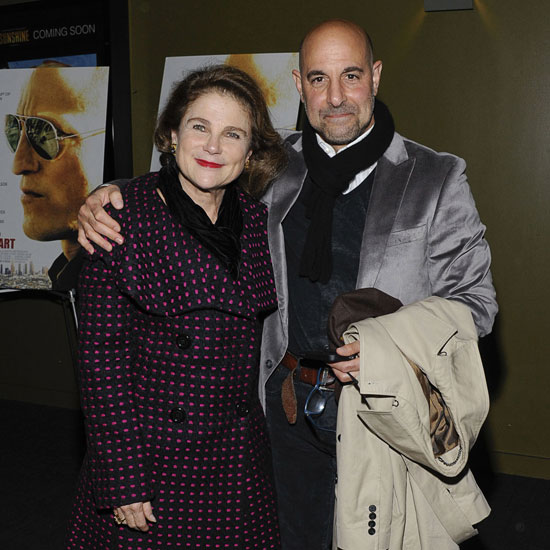Stanley Tucci and Tovah Feldshuh at the New York premiere of Rampart.