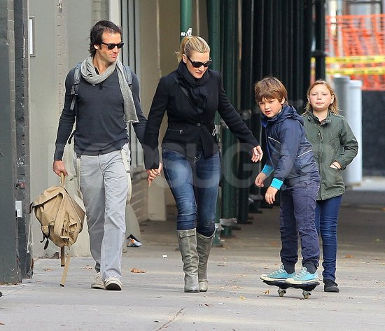 Kate Winslet and Ned Rocknroll had a romantic day out with Mia Threapleton and Joe Mendes.