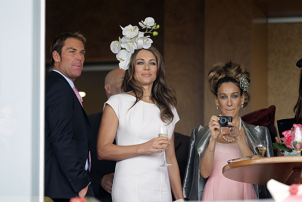 Sarah Jessica Parker Has a Hair-Raising Experience at the Melbourne Races