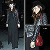 Miranda Kerr Wearing a Leather Jacket in NYC November 3, 2011