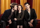 Robert Pattinson got a whiff of Kristen Stewart during a photo shoot with Taylor Lautner in 2010.