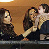 Victoria Beckham Pictures at Galaxy Game With Harper Beckham
