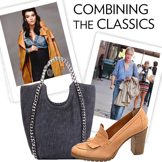 Flawless Seasonal Combo: Camel + Denim
