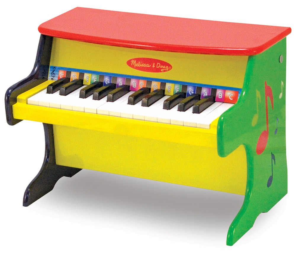 Melissa & Doug Learn-To-Play Piano ($52)