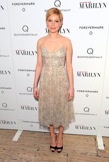 Michelle Williams wore Erdem.
